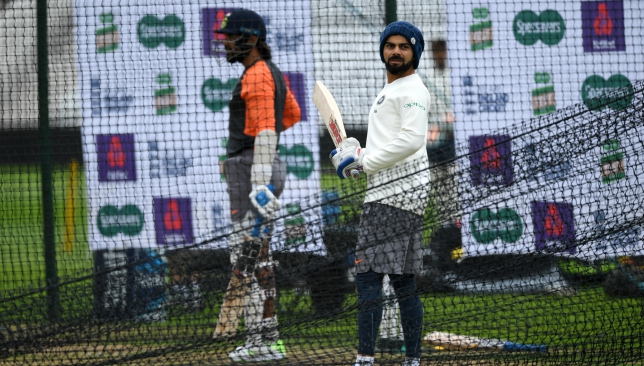 Kohli and Co took to the nets at Trent Bridge on Thursday.