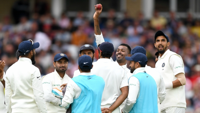 Pandya picked up his maiden Test five-wicket haul at Trent Bridge.