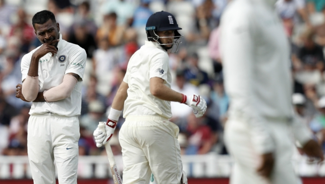 Hardik Pandya had bowled only 10 overs in the Edgbaston Test.