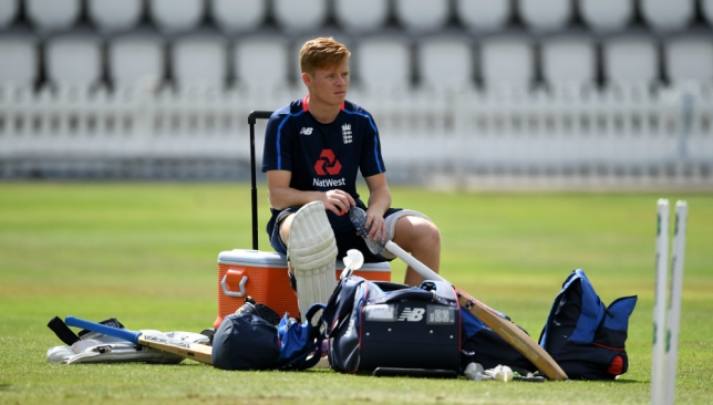 Ollie Pope will bat at No4 on his England debut.