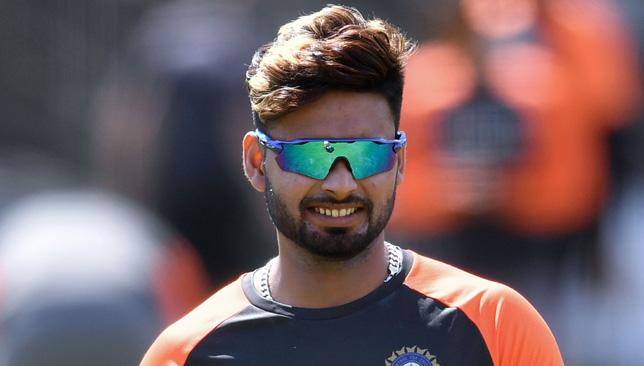 Wicketkeeper-batsman Rishabh Pant.