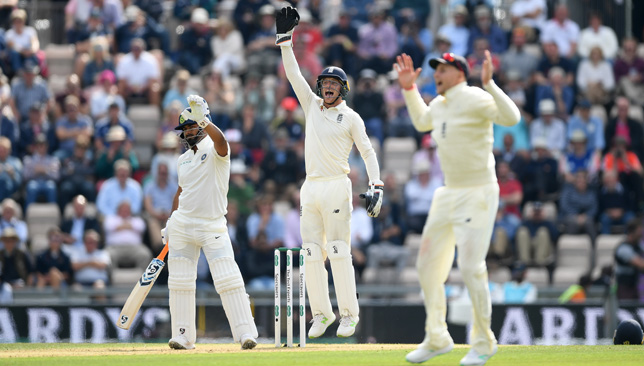 Rishabh Pant was out for a duck on Friday.