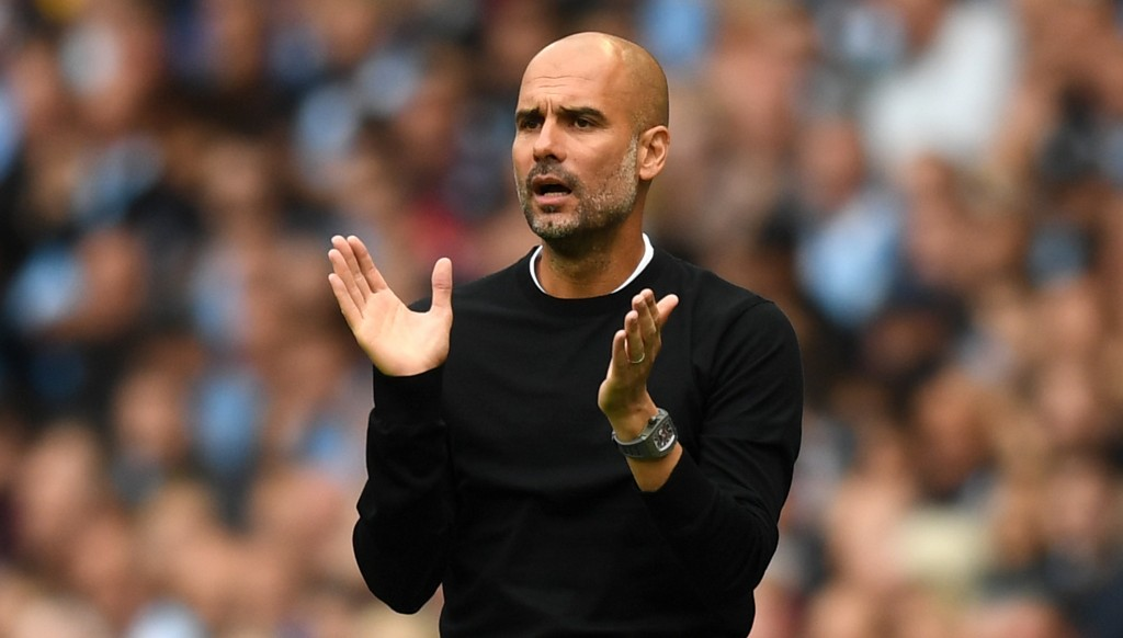 Pep Guardiola says Man City still need to improve.