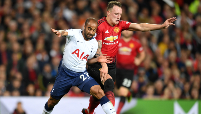Tottenham beat Manchester United 3-0 in the reverse fixture.