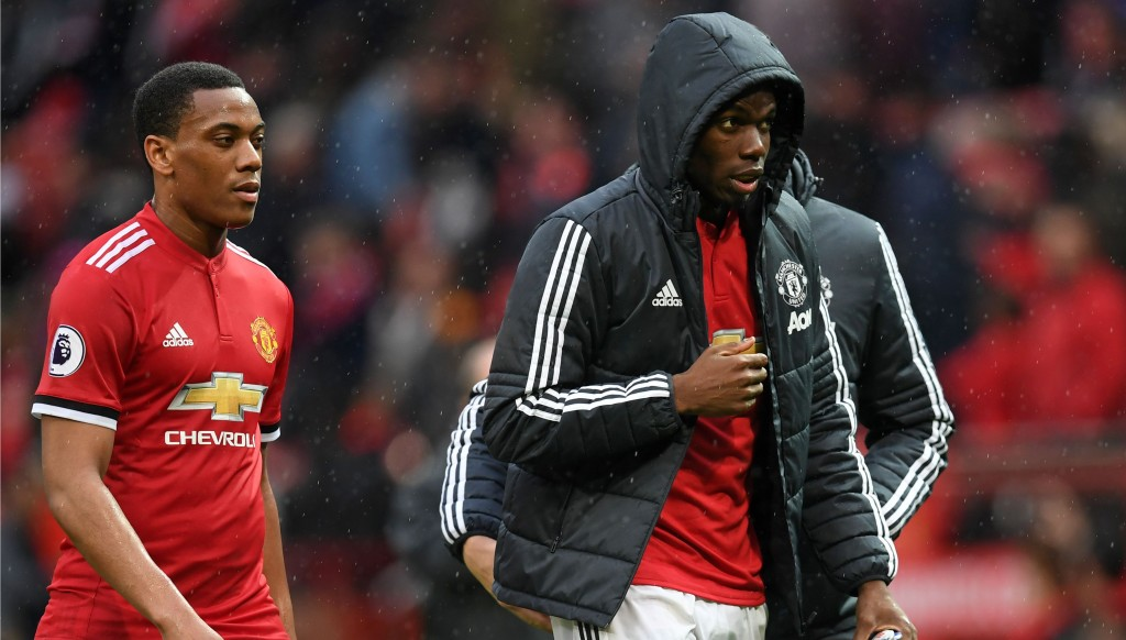 Paul Pogba and Anthony Martial are said to be keen on Zinedine Zidane replacing Jose Mourinho.