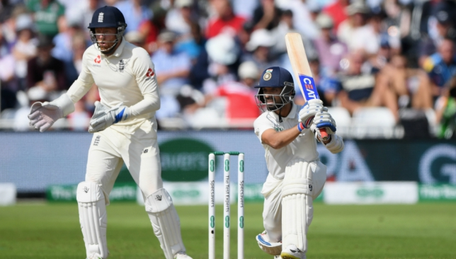 Rahane sparkled with an innings of 81 at Trent Bridge.