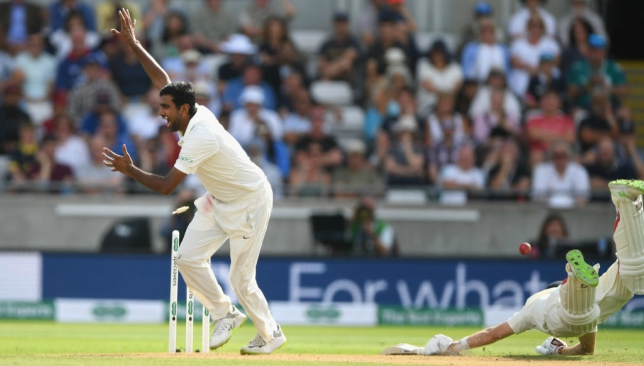 Root was run-out for 80 after a direct hit from Virat Kohli.