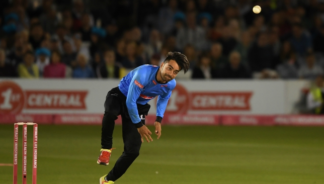 Rashid Khan had an impressive stint for Sussex.