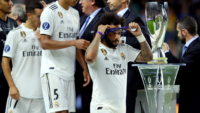 Marcelo was part of the team that lost on Wednesday