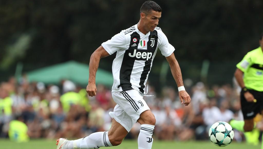 Juventus' new No7: Cristiano Ronaldo.