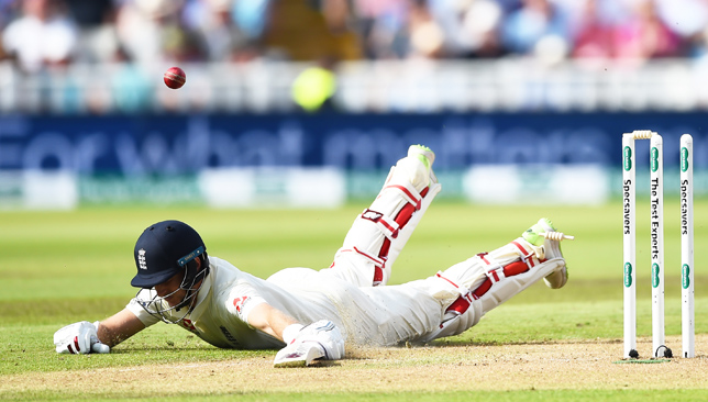 Joe Root was run out by Kohli on Wednesday.