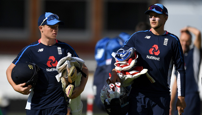 Ollie Pope and Joe Root at Lord's