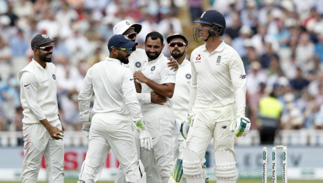 Shami was the most impressive of India's pacers on Wednesday.