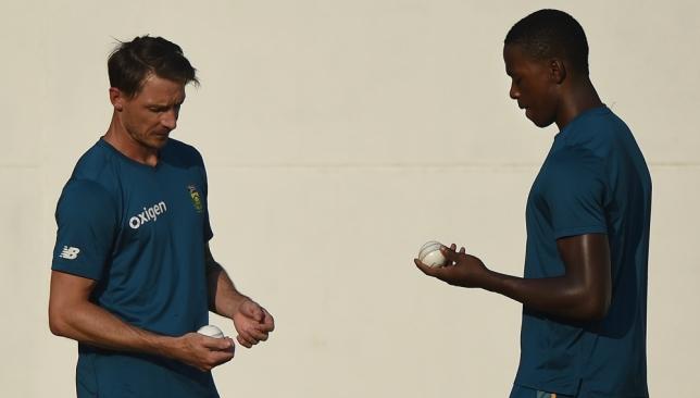 Steyn has lavished praise on young Rabada.