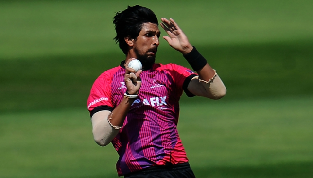 Ishant Sharma enjoyed a fruitful stint with Sussex earlier in the summer.