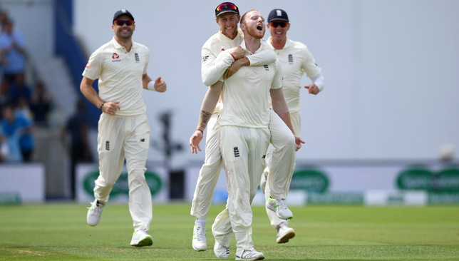 Joe Root was pleased with his team after Ben Stokes took three wickets on Saturday