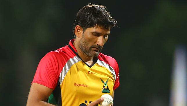 Sohail Tanvir of the Guyana Amazon Warriors.