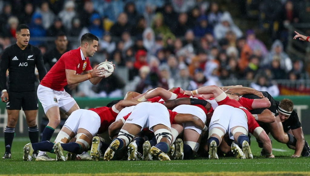 The Lions matched the All Blacks at the set-piece