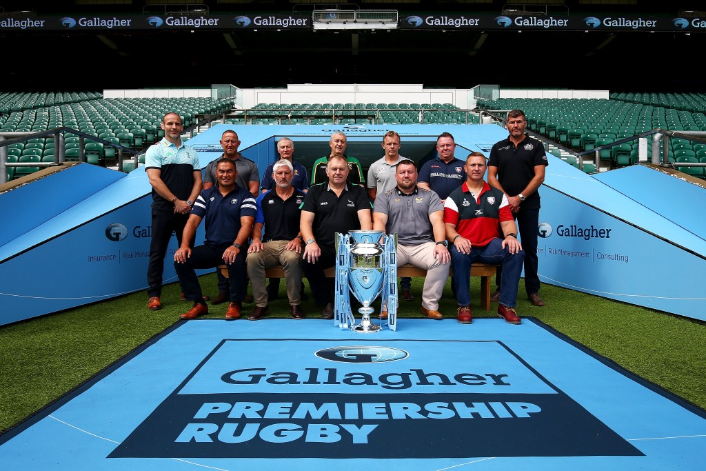 The Premiership Rugby coaches and Directors of Rugby