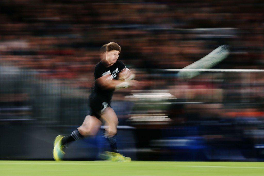 The Wallabies saw a blur when they looked at Beauden Barrett