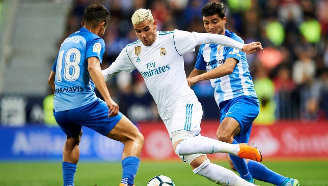 Theo Hernandez has struggled for game time at the Bernabeu.