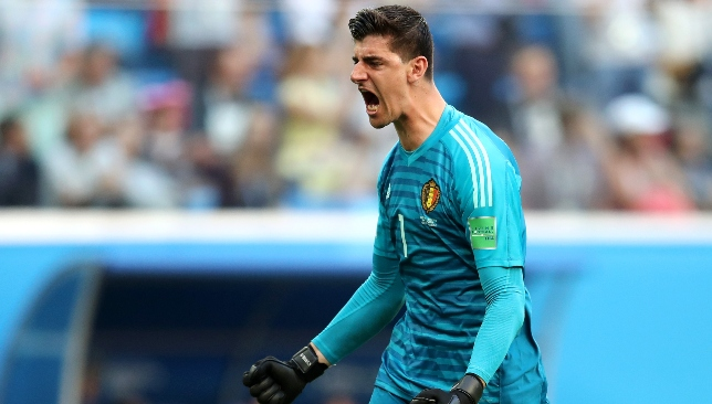 In demand: Thibaut Courtois.