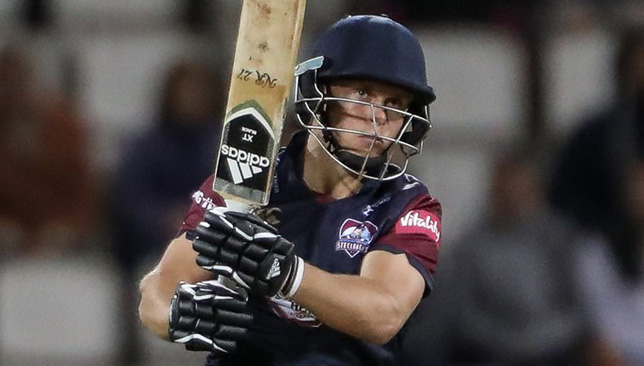 Northamptonshire  batsman and brother of Sam and Tom Curran, Ben. Image: Northants/Twitter
