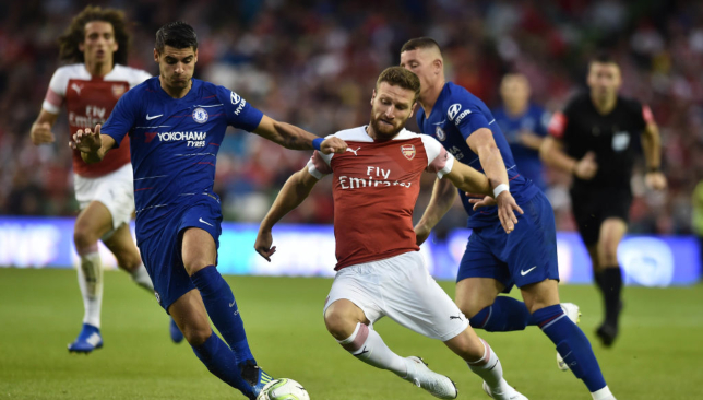Eden Hazard trolls Arsenal fans after Marcos Alonso's late victor