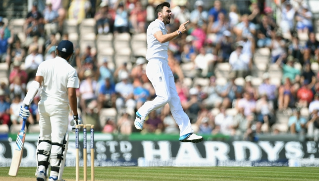 James Anderson was a thorn in India's flesh at Southampton in 2014.