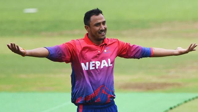 Nepal captain Paras Khadka. Image: ICC/Twitter.