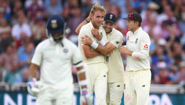 Broad was fined 15 per cent of his match fees.