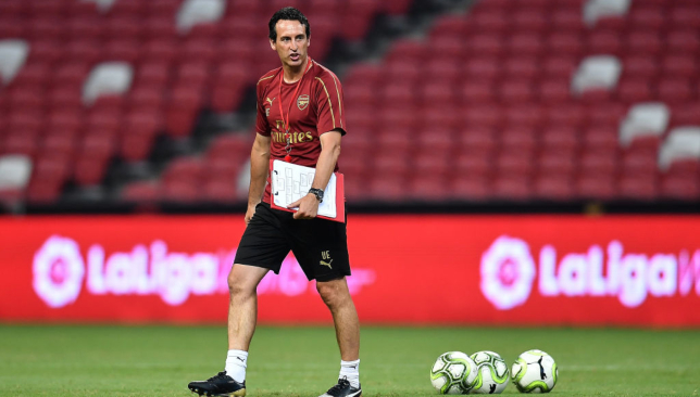 Image result for unai emery writing