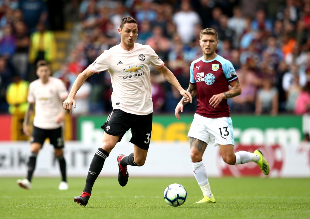 Matic was solid alongside Fellaini in front of the defence.