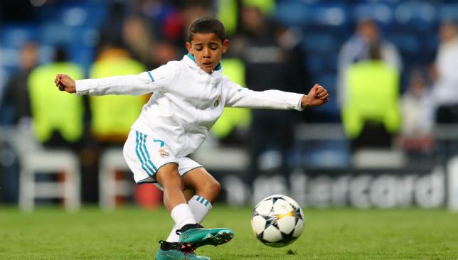 0903 Cristiano Ronaldo Jr