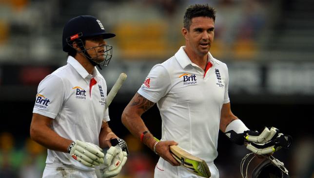 Alastair Cook and Kevin Pietersen.