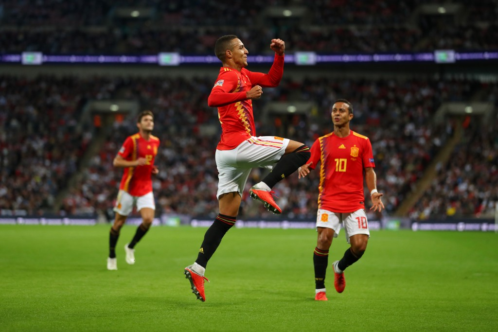 Rodrigo's goal gave Spain victory.