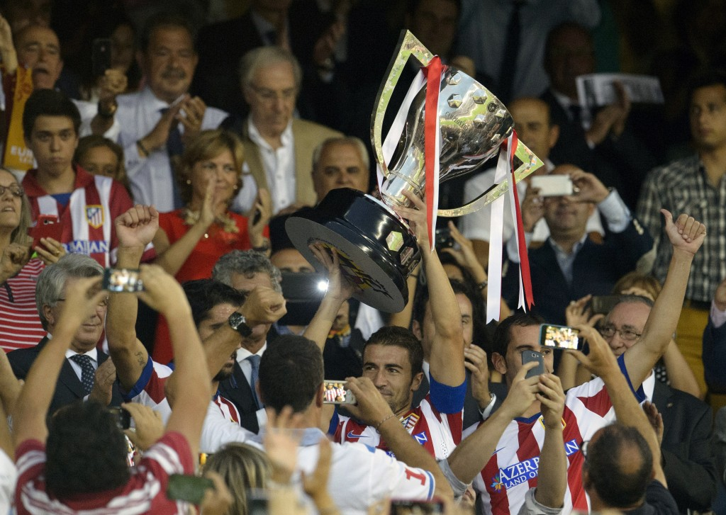 Atletico Madrid won La Liga in 2013-14.