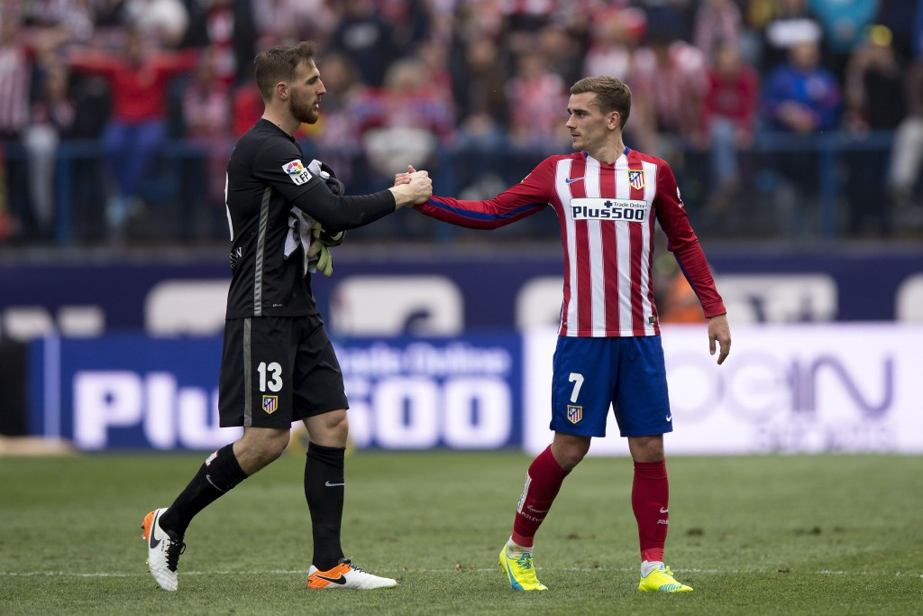 Griezmann and Oblak.