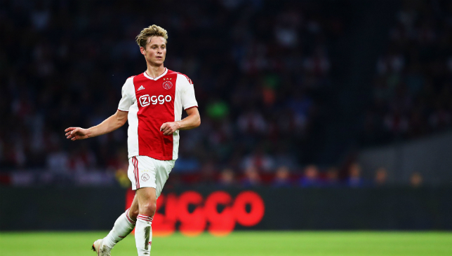 The tug-of-war over Frenkie de Jong continues.