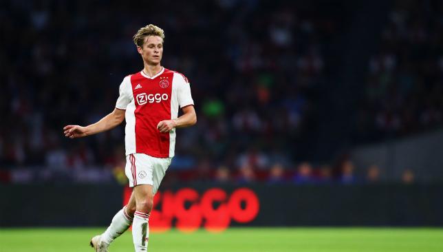 Frenkie de Jong is a long-term target of Barcelona's.