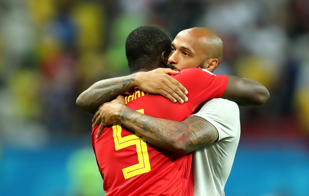 Lukaku enjoys a close relationship with Henry - as well as Drogba and Anelka.