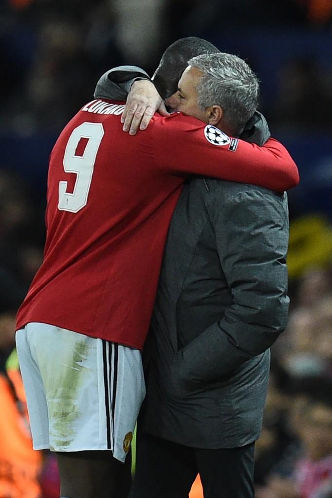 Mourinho and Lukaku.