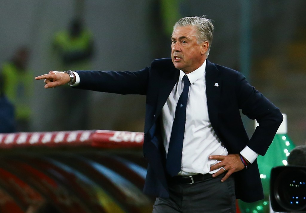 Ancelotti will be looking to guide Napoli to a statement win.