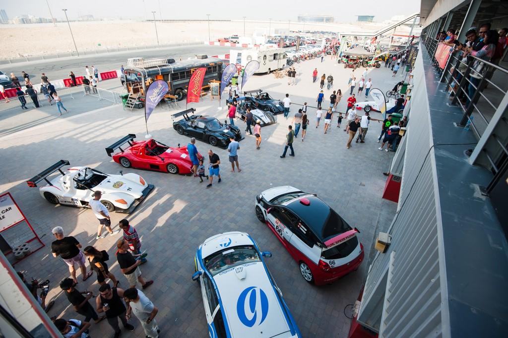 Dubai Autodrome Race-Paddock at EME