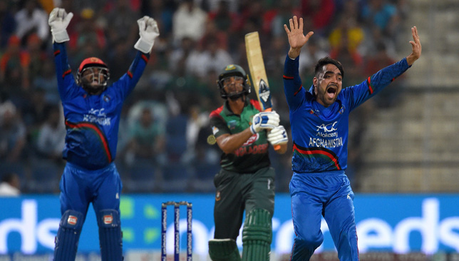 Rashid Khan (r) has picked up eight wickets so far