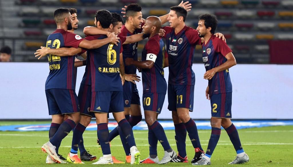 Al Wahda thrashed new boys Ittihad Kalba 6-2.