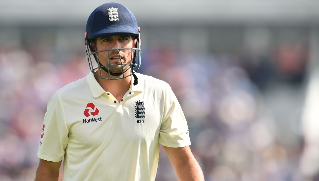 Time to call it a day: Alastair Cook.