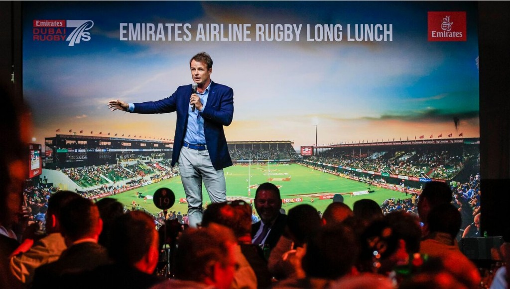 Healey was speaking at Thursday's Emirates Airline Rugby Long Lunch, an event in the build-up to the Dubai Sevens, taking place from November 29-December 1 this year.