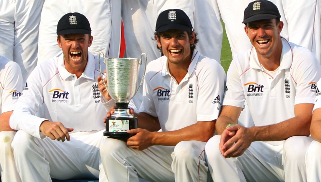 Cook has had some illustrious teammates over the years.