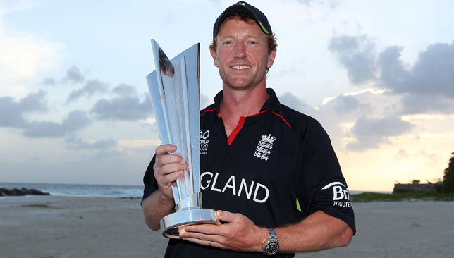 Paul Collingwood guided England to World T20 glory in 2010